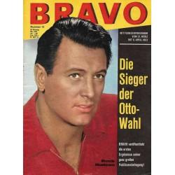 BRAVO Nr.13 / 26 März 1963 - Rock Hudson