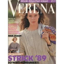 Verena Mode.Maschen.Ideen Heft 2 1989