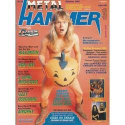 Metal Hammer Heft 10 Oktober von 1988