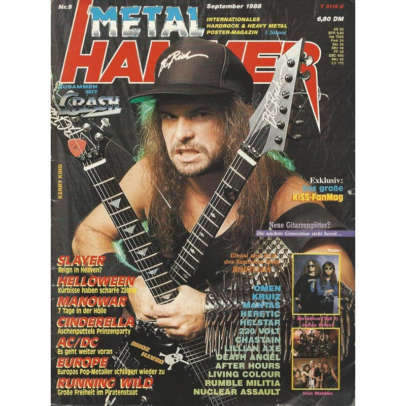 Metal Hammer Heft 9 September 1988