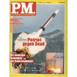P.M. Ausgabe Mai 5/1991 - Patriot gegen Scud