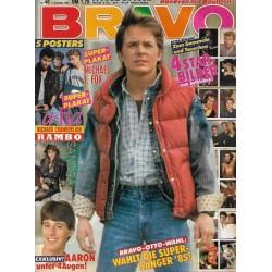 BRAVO Nr.46 / 7 November 1985 - Michael J. Fox