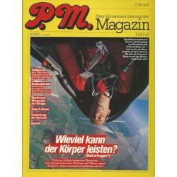 P.M. Ausgabe August 8/1987 - Wieviel kann der Körper leisten?