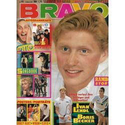 BRAVO Nr.41 / 3 Oktober 1985 - Boris Becker