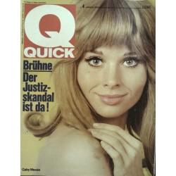 Quick Heft Nr.4 / 22 Januar 1967 - Gaby Mesee