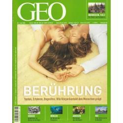 Geo Nr. 6 / Juni 2004 - Berührung