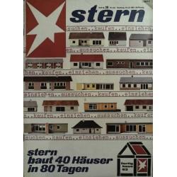 stern Heft Nr.28 / 14 Juli 1963 - Fetig Haus 1963