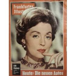 Frankfurter Illustrierte Nr.40 / 1 Oktober 1961 - Lilli Palmer