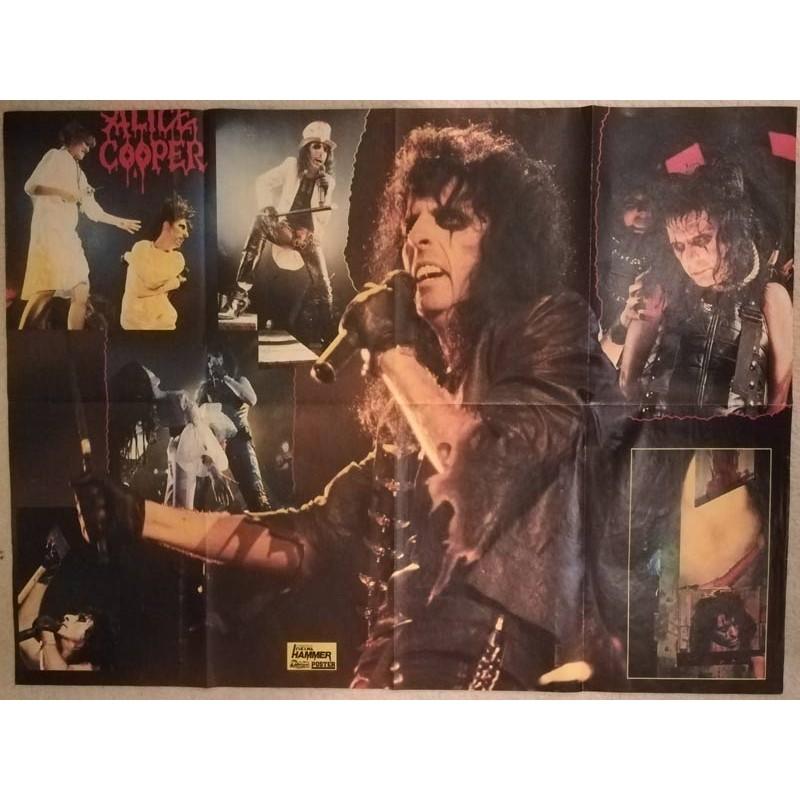 Großes Alice Cooper Poster