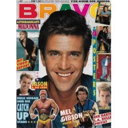 BRAVO Nr.42 / 12 Oktober 1989 - Mel Gibson