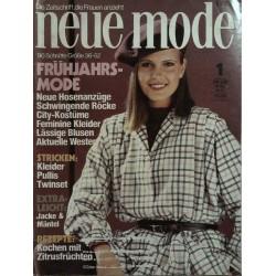 neue mode 1/Januar  1979 - Frühjahrsmode