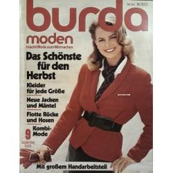 burda Moden 9/September 1979 - Das schönste für den Herbst