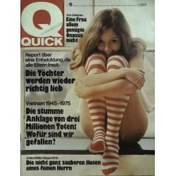 Quick Heft Nr.16 / 10 April 1975 - Aris Geliebte