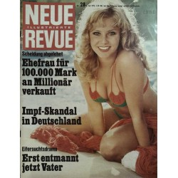 Neue Revue Nr.28 / 8 Juli 1972 - Scheidung abgelehnt