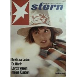 stern Heft Nr.29 / 21 Juli 1963 - Elsa Martinelli