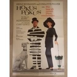 Großes Hokus Pokus Plakat von 1966