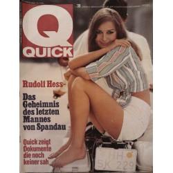 Quick Heft Nr.38 / 18 September 1966 - Rudolf Hess