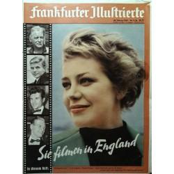 Frankfurter Illustrierte Nr.9 / 28 Februar 1959 - Hildegard Knef