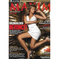 Maxim April 2006 - Goldkehlchen Beyonce!