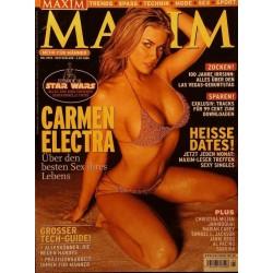Maxim Mai 2005 - Carmen Electra