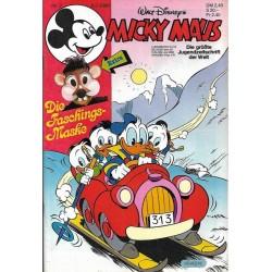 Micky Maus Nr.7 / 8 Februar 1986 - Die Faschings Maske