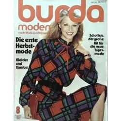 burda Moden 8/August 1980 - Schotten