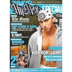 BRAVO Hip Hop Nr.4 / 6 Oktober 2006 - Eminem Horror Jahr