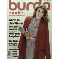 burda Moden 10/Oktober 1980 - Warm im Winter