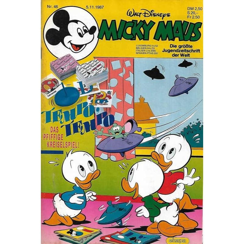 Micky Maus Nr.46 / 5 November 1987 - Tempo Tempo