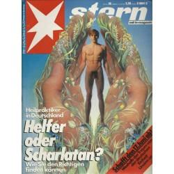 stern Heft Nr.26 / 16 Juni 1987 - Helfer oder Scharlatan?