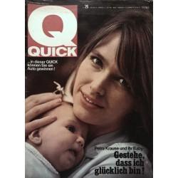Quick Heft Nr.26 / 27 Juni 1965 - Petra Krause und ihr Baby