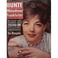 Bunte Illustrierte Nr.1 / 6 Januar 1963 - Romy Schneider