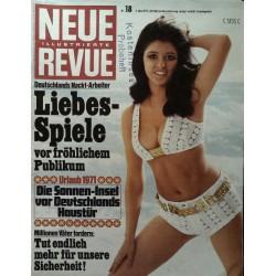 Neue Revue Nr.18 / 2 Mai 1971 - Liebes-Spiele