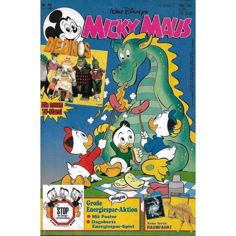 Micky Maus Nr.49 / 2 Dezember 1993 - Die Dinos