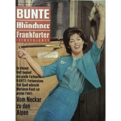 Bunte Illustrierte Nr.18 / 1 Mai 1963 - Marianne Koch