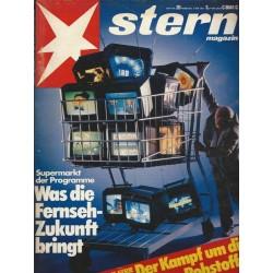 stern Heft Nr.20 / 7 Mai 1981 - Was die Fernsehzukunft bringt