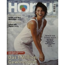 HÖRZU 38 / 21 bis 27 September 1996 - Immer der Sonne nach