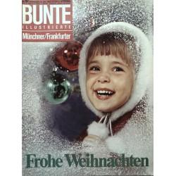 Bunte Illustrierte Nr.52 / 22 Dezember 1965 - Frohe Weihnachten