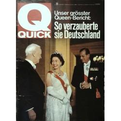 Quick Heft Nr.23 / 6 Juni 1965 - Queen Bericht