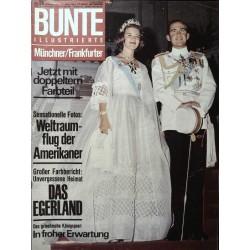 Bunte Illustrierte Nr.26 / 23 Juni 1965 - Griechische Königspaar