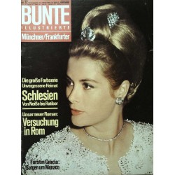 Bunte Illustrierte Nr.12 / 17 März 1965 - Fürstin Gracia