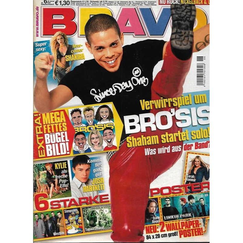 BRAVO Nr.6 / 30 Januar 2002 - Shaham von Bro Sis