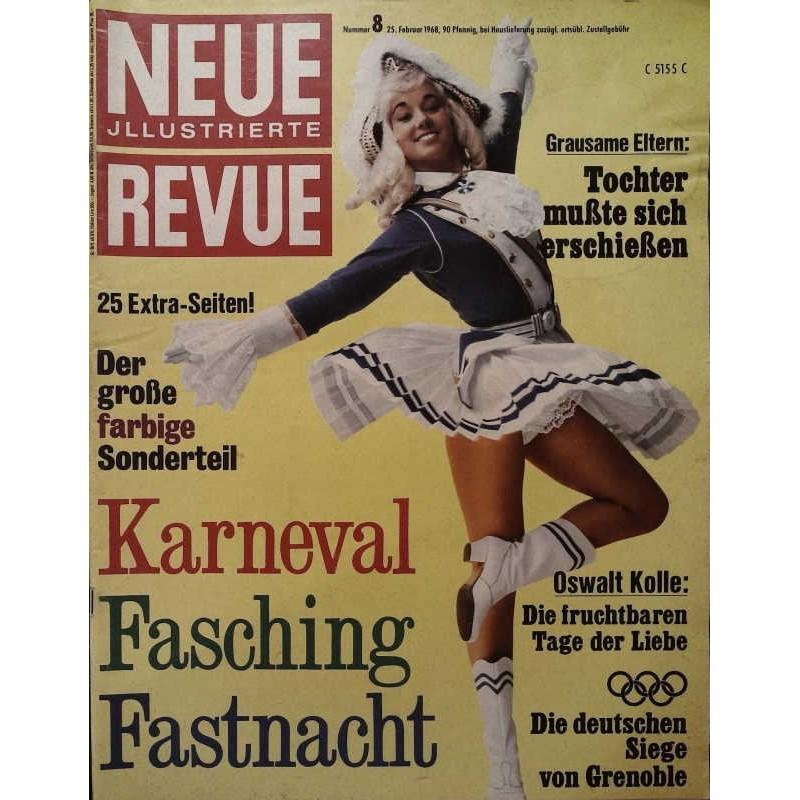 Neue Revue Nr.8 / 25 Februar 1968 - Karneval
