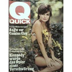 Quick Heft Nr.37 / 11 September 1966 - Astrid Mildenberger