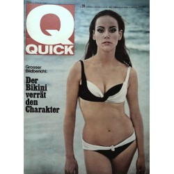 Quick Heft Nr.24 / 13 Juni 1965 - Der Bikini