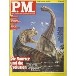P.M. Ausgabe November 11/1991 - Die Saurier und die Evolution