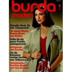 burda Moden 4/April 1981 - Aktuelle Mode
