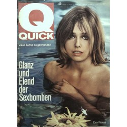 Quick Heft Nr.40 / 3 Oktober 1965 - Eva Renzi