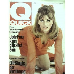 Quick Heft Nr.3 / 16 Januar 1966 - Karin Brandl
