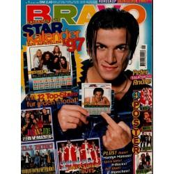 BRAVO Nr.1 / 24 Dezember 1996 - Peter Andre